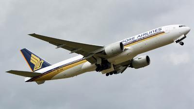 9V-SVN - Boeing 777-212(ER) - Singapore Airlines