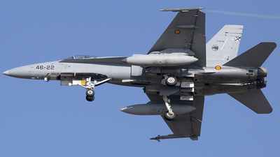 C.15-94 - McDonnell Douglas F/A-18A Hornet - Spain - Air Force