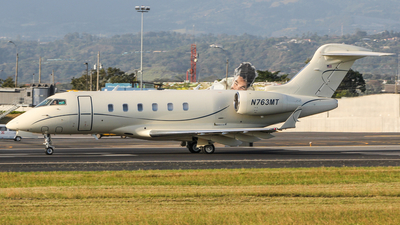 N763MT - Bombardier BD-100-1A10 Challenger 300 - Private