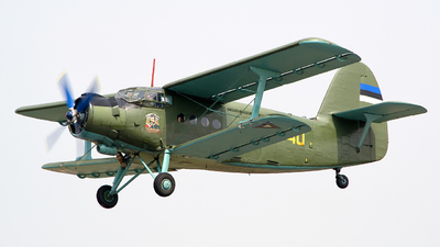 40 - PZL-Mielec An-2T - Estonia - Air Force