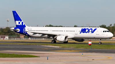 F-GTAT - Airbus A321-211 - Joon