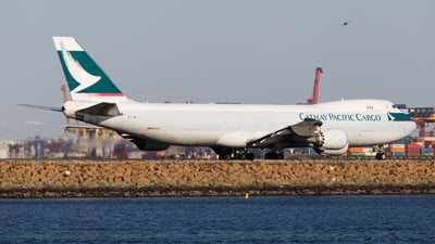B-LJK - Boeing 747-867F - Cathay Pacific Cargo