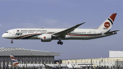 S2-AJY - Boeing 787-9 Dreamliner - Biman Bangladesh Airlines