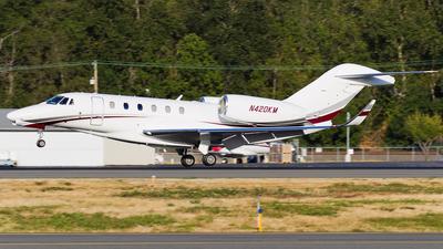 N420KM - Cessna 750 Citation X - Private