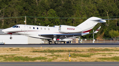A picture of N420KM - Cessna 750 Citation X - [7500234] - © SpotterPowwwiii