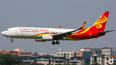 A picture of B5439 - Boeing 737808 - Hainan Airlines - © TommyNGB