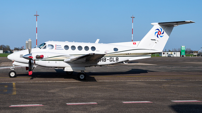 HB-GLB - Beechcraft B200 Super King Air - Swiss Flight Services (SFS)