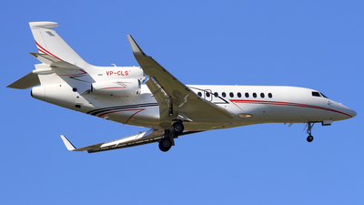VP-CLS - Dassault Falcon 7X - Global Jet Luxembourg