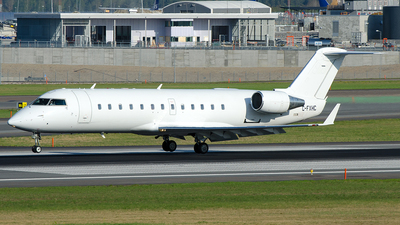 C-FXHC - Bombardier CRJ-200LR - Voyageur Airways