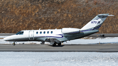 N70JK - Cessna 525 Citationjet CJ4 - Private