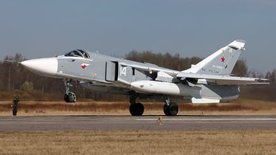 RF-93808 - Sukhoi Su-24M Fencer - Russia - Air Force