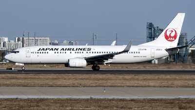 JA321J - Boeing 737-846 - Japan Airlines (JAL)