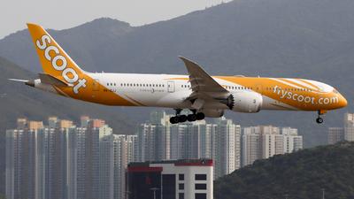 9V-OJJ - Boeing 787-9 Dreamliner - Scoot