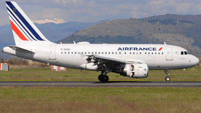 A picture of FGUGE - Airbus A318111 - Air France - © Gabriele Fontana - Tuscan Aviation