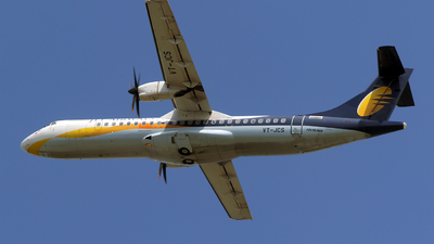 VT-JCS - ATR 72-212A(500) - Jet Airways Konnect