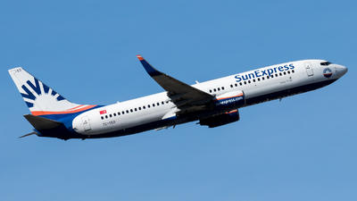 A picture of TCSED - Boeing 73786N - SunExpress - © Michael E.