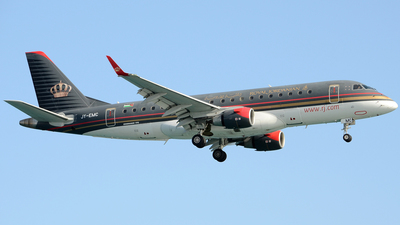 A picture of JYEMC - Embraer E175LR - Royal Jordanian - © Henrik Hedde