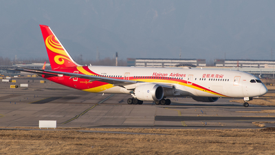 A picture of B20AL - Boeing 7879 Dreamliner - Hainan Airlines - © TCJJN