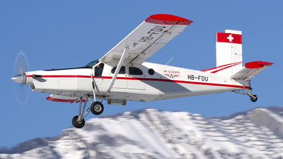 HB-FDU - Pilatus PC-6/B2-H2 Turbo Porter - Air Glaciers