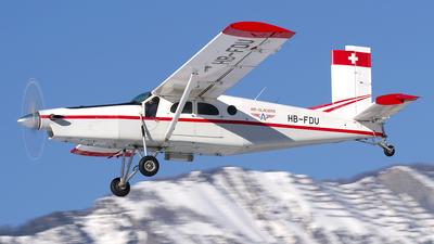 A picture of HBFDU - Pilatus PC6/B2H2 Turbo Porter -  - © Andrea Ferino