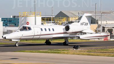 VH-JCR - Bombardier Learjet 35A - Jet City
