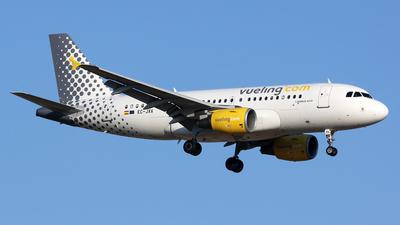 EC-JXV - Airbus A319-112 - Vueling