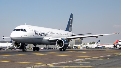 XA-MXF - Airbus A320-214 - Mexicana