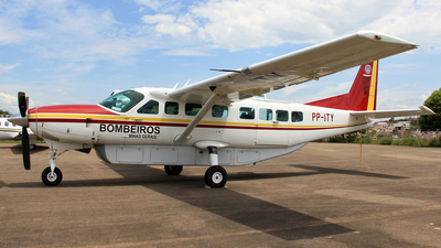 PP-ITY - Cessna 208B Grand Caravan - Brazil - Military Firefighters
