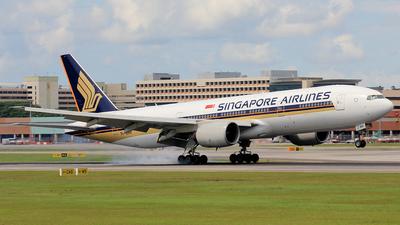 9V-SRH - Boeing 777-212(ER) - Singapore Airlines