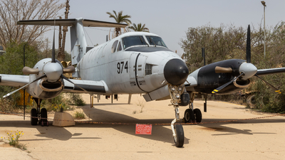 974 - Beechcraft RC-12D Kookiya - Israel - Air Force