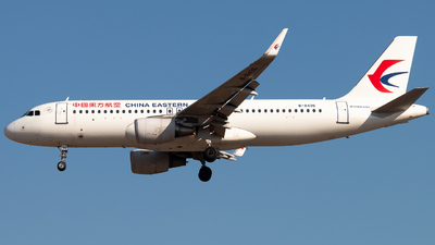 A picture of B8496 - Airbus A320214 - China Eastern Airlines - © Meng
