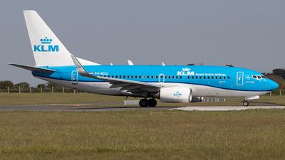 A picture of PHBGQ - Boeing 7377K2 - KLM - © Ross Sugrue