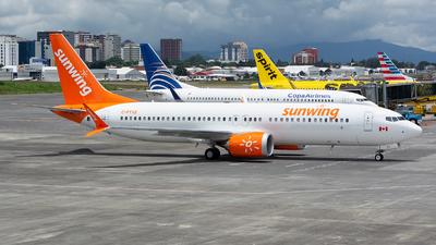C-FTXE - Boeing 737-8 MAX - Sunwing Airlines