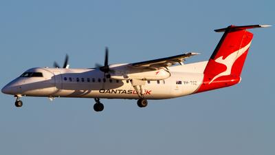 A picture of VHTQZ - De Havilland Canada Dash 8300 - QantasLink - © Noah Pitkin