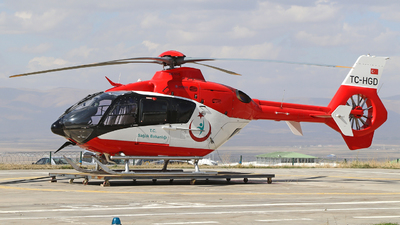 TC-HGD - Eurocopter EC 135P2+ - Turkey - Ministry of Health