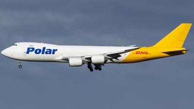 A picture of N858GT - Boeing 74787U(F) - DHL - © Richelieu