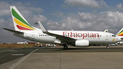 A picture of ETALN - Boeing 737760 - Ethiopian Airlines - © Raimund Stehmann
