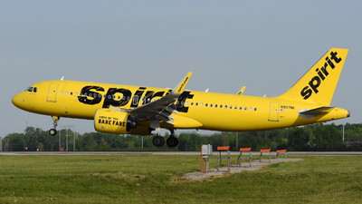 A picture of N907NK - Airbus A320271N - Spirit Airlines - © DJ Reed - OPShots Photo Team