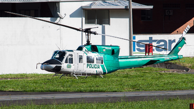 PNC-0495 - Bell 212 - Colombia - Police