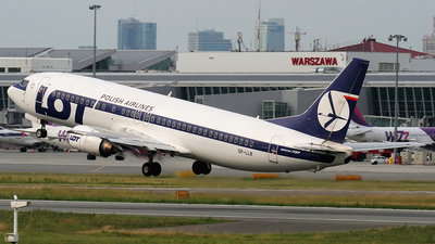 SP-LLB - Boeing 737-45D - LOT Polish Airlines