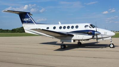 A picture of N49KC - Beech 200 Super King Air - [BB318] - © Gary C. Orlando