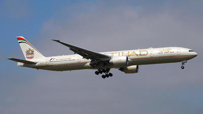 A6-ETD - Boeing 777-3FXER - Etihad Airways