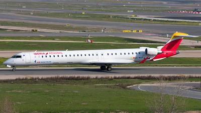 A picture of ECMJP - Mitsubishi CRJ1000 - Iberia - © Enrique Rubira