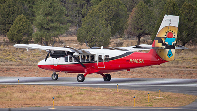 A picture of N146SA - De Havilland Canada DHC6300 Twin Otter - Grand Canyon Airlines - © Leon Knipp