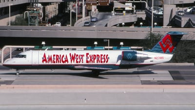N27185 - Bombardier CRJ-200ER - America West Express (Mesa Airlines)