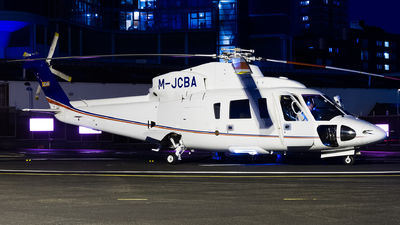 M-JCBA - Sikorsky S-76C - J C Bamford Excavators