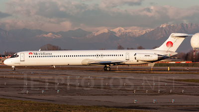 I-SMET - McDonnell Douglas MD-82 - Meridiana fly