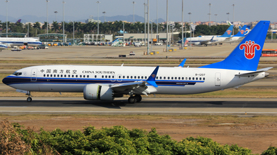 B-1207 - Boeing 737-8 MAX - China Southern Airlines