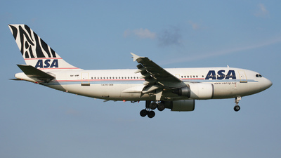 5Y-VIP - Airbus A310-308 - African Safari Airways (ASA)
