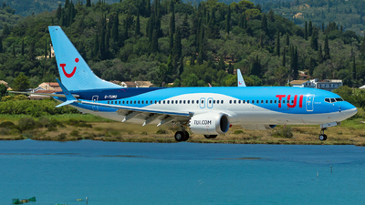 A picture of GTUMO - Boeing 737 MAX 8 - TUI fly - © Sindy Rogosz